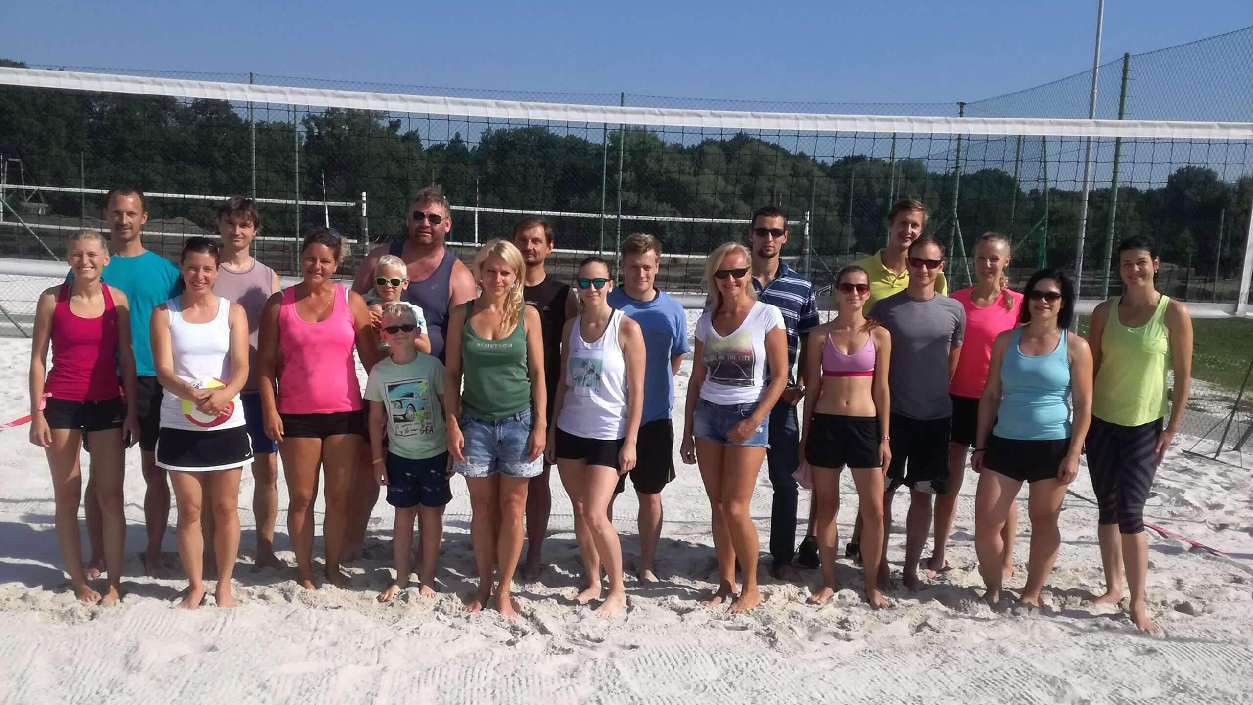 Beach volejbal turnaj Pardubice